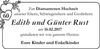 Edith und Günter Rust