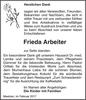Frieda Arbeiter