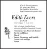 Edith Evers