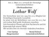 Lothar Wolf