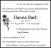 Hanna Bach