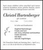 Christel Hartenberger