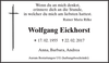 Wolfgang Eickhorst
