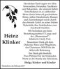 Heinz Klinker