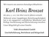 Karl Heinz Broszat