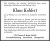 Klaus Kahlert