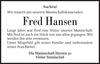 Fred Hansen