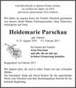 Heidemarie Parschau