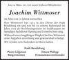 Joachim Wittmoser