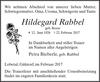 Hildegard Rabbel
