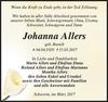 Johanna Allers