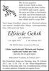 Elfriede Gehrk