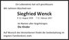 Siegfried Wenck