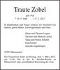 Traute Zobel