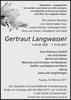 Gertraut Langwasser
