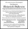 Heinrich Dührsen