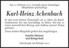 Karl-Heinz Achenbach