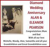 Diamond anniversary notice for Diamond