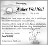 Walter Wohlfeil