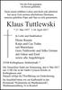 Klaus Tuttlewski